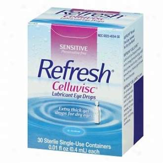 Refresh Celluvisc, Lubricant Eye Drops, Single Use Containers