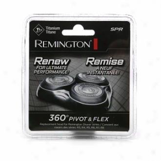 Remington 360 Pivot & Flex Titanium Repkacement Head, Model Spr