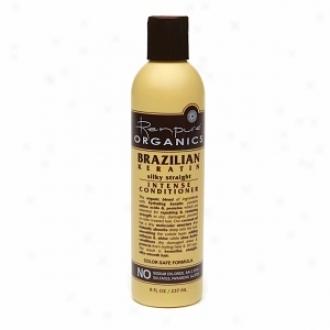 Renpurs Organics Brazilian Keratin Silky Straight Intensr Conditioner