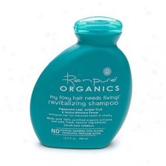 Renpure Organics My Foxy Hair Needs Fixing! Revitalizing Shampoo 13.5 Oz