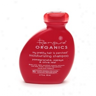 Renpure Organics My Pretty Hair Is Parched!  Moisturiziny Shampoo Trial Size 2.7 Oz