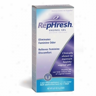 Rephresh Ph Balancing Vaginal Gel