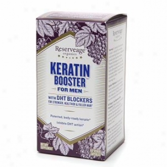 Reserveage Organics Keratin Booster For Men With Dht Blocker For Healthier Hair