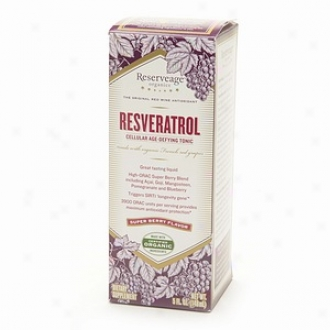 Reserveage Organics Resveratrrol Cellular Age-defying Tonic, Super Berry