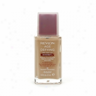 Revlon Age Defying Makeup Spf 20 Foundation With Botafirm For Normal Or Combination Peel, Bare Buff 02