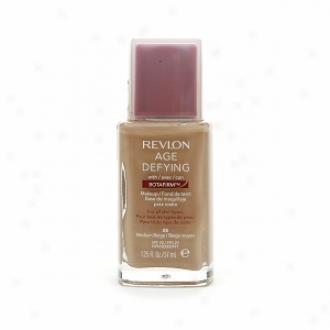Revlon Age Defying Makeup Spf 20 Foundation With Botafirm For Regular Or Combination Skin, Medium Beige 08