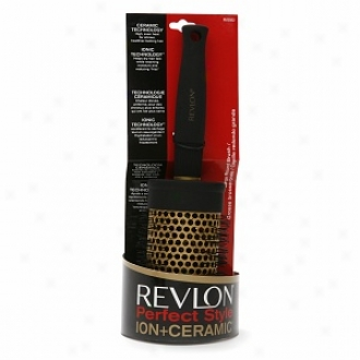 Revlon Perfect Style Ion + Ceramic Brush, Large Roujd