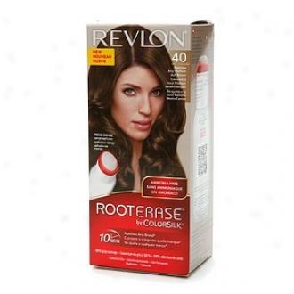 Revlon Roto Erase By Colorsilk Ammonia-free Permanent Color, Medium Ash Blonde 40