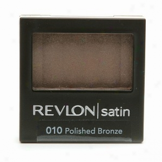 Revlon Satin Luxurious Color Eyeshadow, Polished Bronze 010