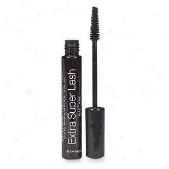 Rimmel Extra Super Lash Mascara, Black-black