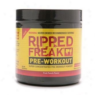 Ripped Gambol Pre-workout Super Concentrated  Powder, Fruit Perforate