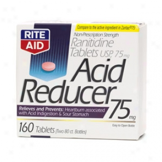 Rite Aid Acid Rdeucer, Ranitidine Tablets