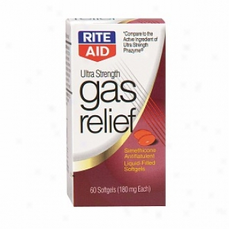 Rite Aid Ultra Strength Gas Relief, Softgels