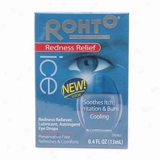 Rohto Ice Redness Relief