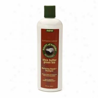 Rotos Of Nature Remedies Shea Butter Green Supper Nurturing Repair Shampoo