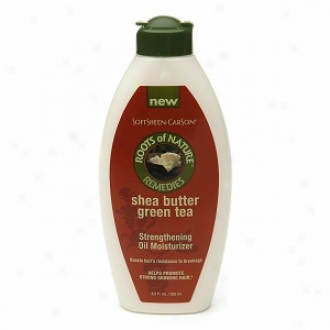 Roots Of Nature Remedies Shea Butter Gresn Tea Strengthening Oil Moisturizer
