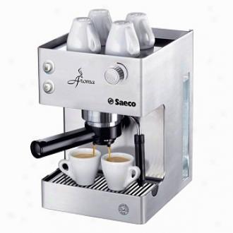 Saeco Fragrance Manual Espresso Machine Model Ri9376/04, Stainless Steel