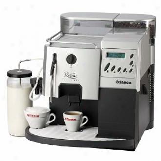 Saeco Royal Coffee Bar Standard Ri9119/47, Silver And Plumbago