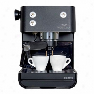 Saeco Via Venezia Pump Espresso Machine Model Ri9366/47, Wicked