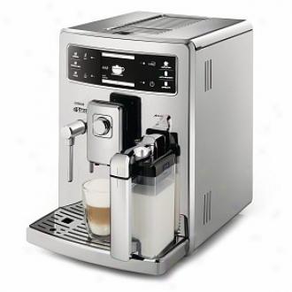 Saeco Xelsis Digital Id Espresso Machine Model Hd8946/47, Stainless Steel
