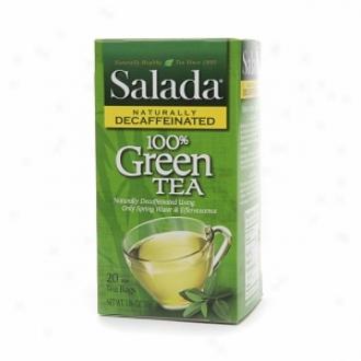 Salada Naturally Decaffeinated Gree nTea, 100% Green Tea