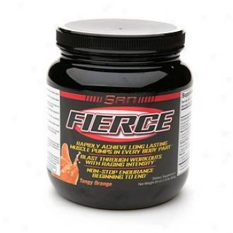 San Fierce, Strength & Endurance Amplifier, Tangy Orange