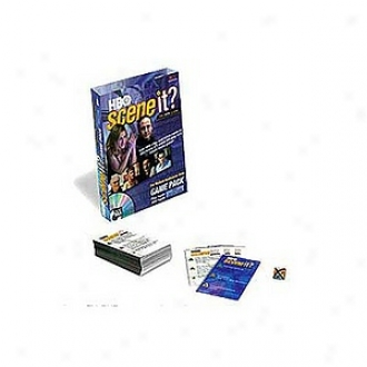 Scene It? The Dvd Game, Hbo Game Pack, Mature Audiences Only, Ages 18+