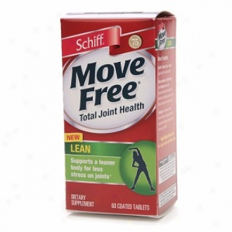Schiff Move Free Total Joint Health Lean Upon Irvingia, Tablets