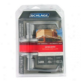 Schlage Light Commercial Keyed Entry Le\/er F51csvela626
