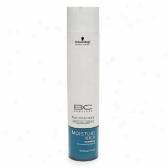 Schwarzkopf Professional Bonacure Hairtherapy Miosture Kick Shampoo, For Normal To Dry Hair