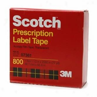 Scotch Prescription Label Tape, 1 1/2 Inch X 2592 Inch