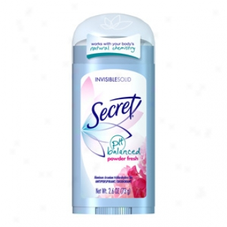 Secret Antiperspirant & Deodorant Invisible Solid, Powdee Fresh