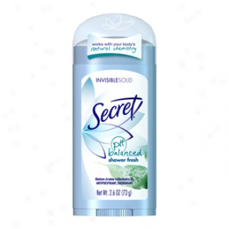 Secrt Invisible Solid Antiperslirant & Deodorant, Shower Unsalted