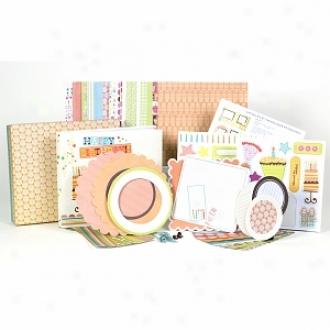 Sei Happy Birthday 8  X 8  1 Hour Scrapbook Album Kit Ages 10+