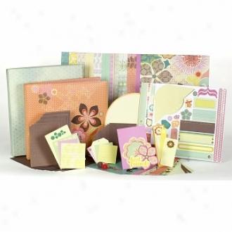 Sei Jocelyn 12  X12  1 Hour Scrabook Album Kit Ages 10+