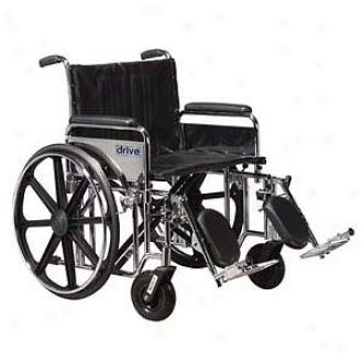 Sentra Extra Heavy Duty Wheelchair Detach Complete Weapons Front Rigging 20