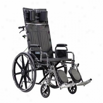 Sentra eRclining Wheelchair With Elevating Legrest 16