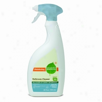 Secenth Generation Disinfecting Bathroom Cleaner, Lemongrass & Thyme