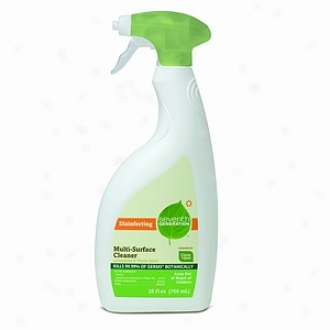 Seventh Generation Diisnfecting Multi-surface Cleaner, Lemongrass & Thyme