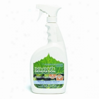 Seventh Generation Original Shower Cleaner, Green Mandarin And Leaf