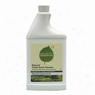 Seventh Generation Natural Toilet Bowl Cleaner, Emerald Cypress & Fir