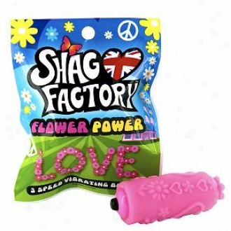 Shag Factory Prime Power 3 Speed Vibrating Bullet, Love/pink