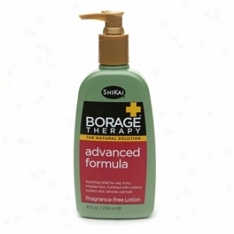 Shikai Borage Therapy Advanced Formula Lotion, Fragrance Free