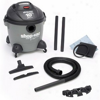 Shop-vac 10 Gallon Quiet Plus Wet/dry Vacuum With Blower Mldel 585-10