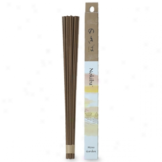 Shoyeido Incense Sticks, Nokiba (moss Garden)