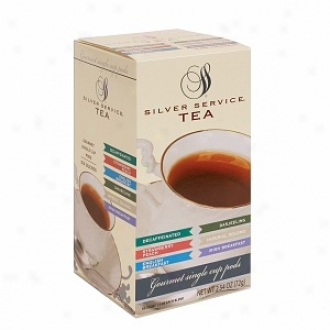 Silver Service 275006 Single Cup Tea Pods Varoety Pack, 108-count