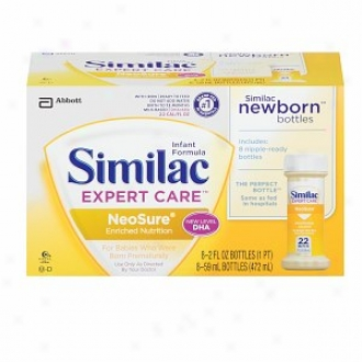 Similac Expert Care Neosure Fodmula Ready To Feed , 2 Fl Oz Bottles