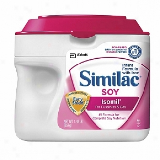 Similac Isomil Soy For Fussiness & Gas, Powdered Infant Formula