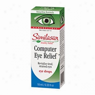 Similasan Computer Eye Relief Eye Drops - .33 Fl Oz, #3 For Eye Fatigue