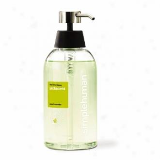 Simplehuman Liquid Hand Soap, Antibacterial (aloe & Cucumber)
